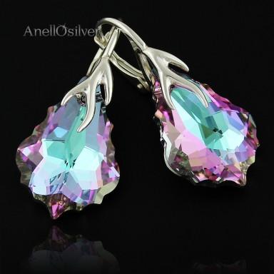 Earrings Baroque z Swarovski Element's Crystal VL