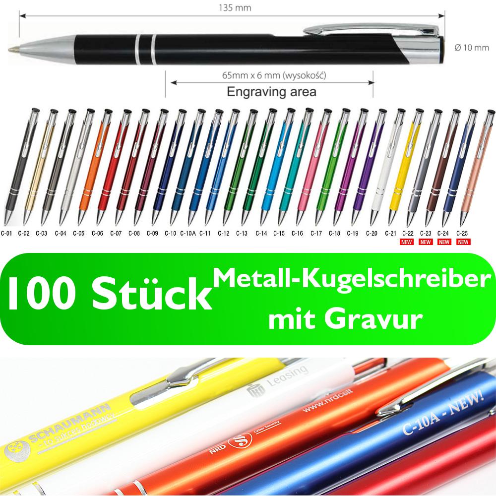 kugelschreiber 100 stück